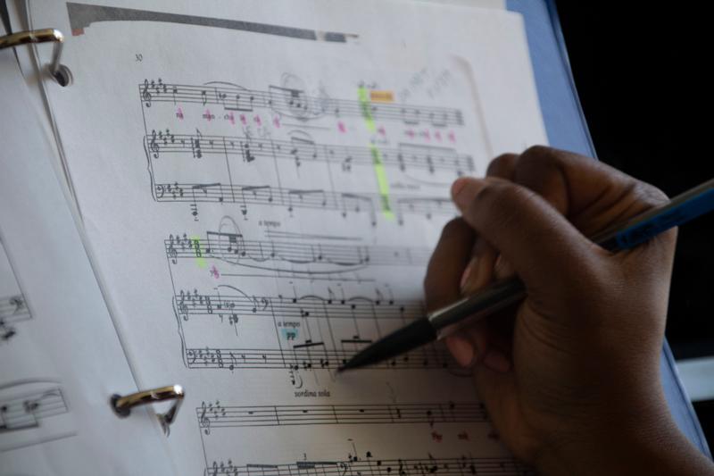 Jennifer Salce, SFA '21 Study Habits of a Musician