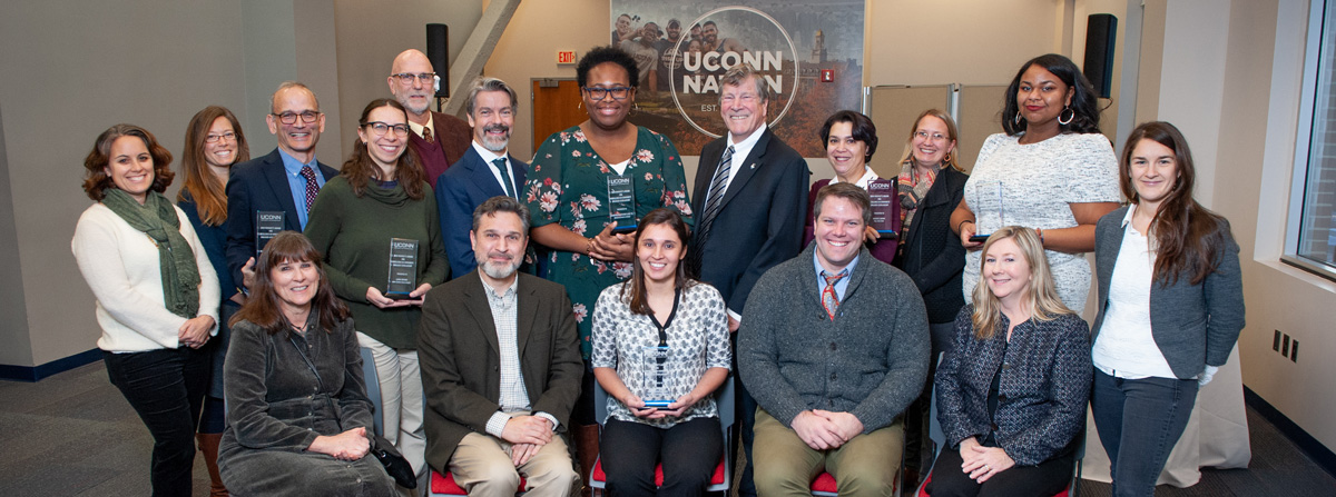 2019 Provost's Award for Excellence in Community Engaged Scholars