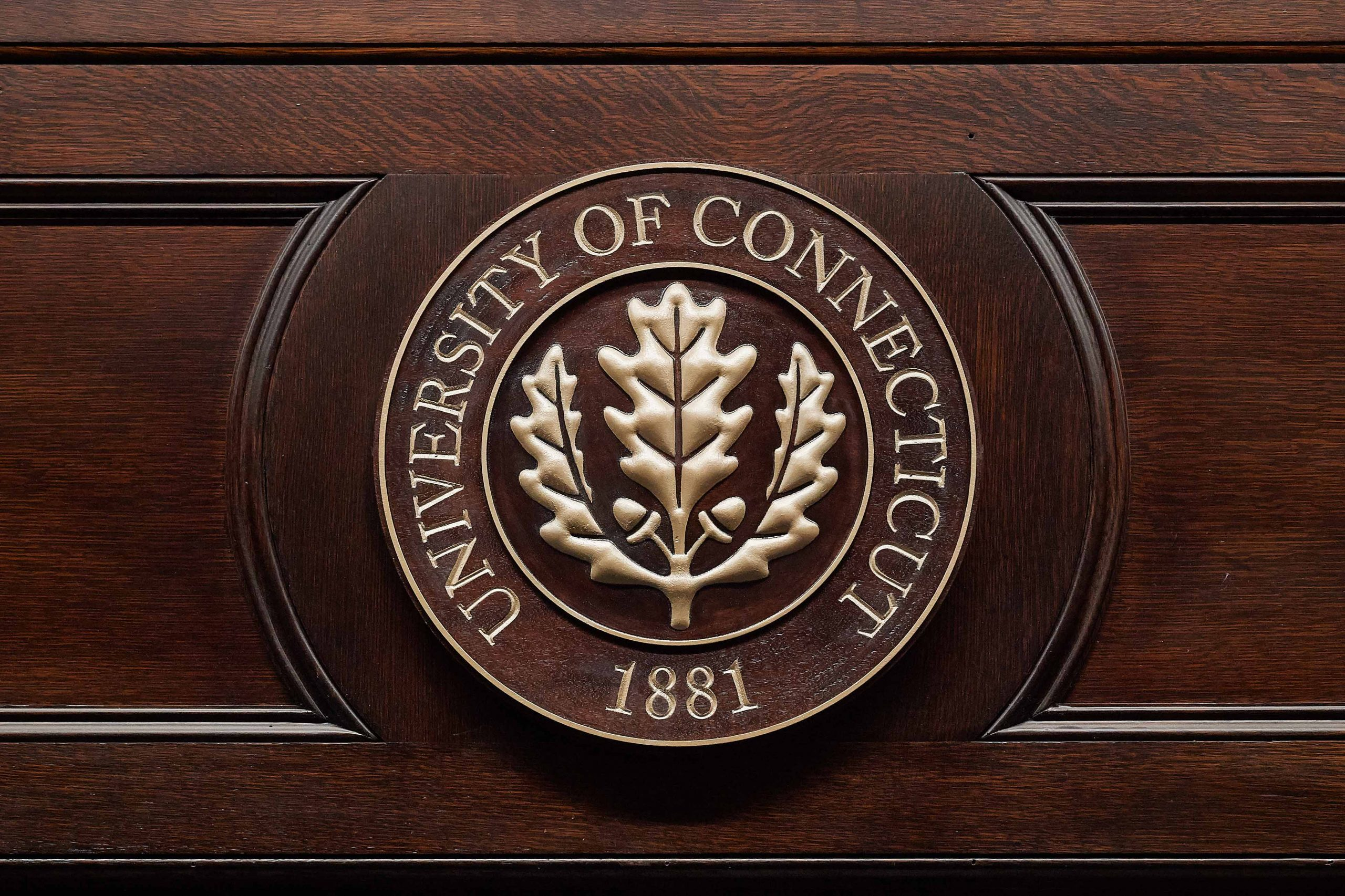 Photo of University of Connecticut seal